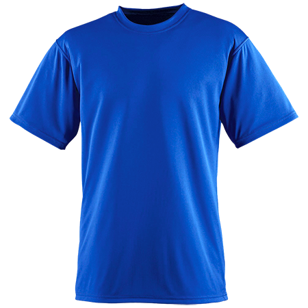 Screen printed wicking t shirts performance tees for Custom printed performance shirts