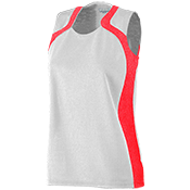 Girls Two Toned Wicking Mesh Jersey  - 855 855