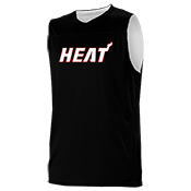 Miami Heat Youth Reversible Basketball Jerseys - A105LY-HEAT A105LY-HEAT
