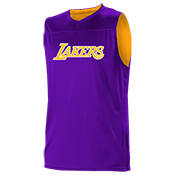 Los Angeles Lakers Youth Reversible Basketball Jerseys - A105LY-LAKERS A105LY-LAKERS