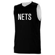 New Jersey Nets Youth Reversible Basketball Jerseys - A105LY-NETS A105LY-NETS