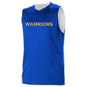 Golden State Warriors  Youth Reversible Basketball Jerseys - A105LY-WARRIORS A105LY-WARRIORS