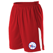 Philadelphia 76Ers Youth Basketball Shorts - A205LY-76ERS A205LY-76ERS