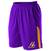 Los Angeles Lakers Youth Basketball Shorts - A205LY-LAKERS A205LY-LAKERS