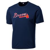 Braves Adult MLB Replica Jersey  - MA1260 Braves-M1260