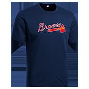 Braves Youth Wicking MLB Replica Jersey- M1261 Braves-M1261
