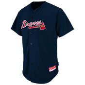 Braves Full Button Baseball Jersey - Adult Braves_Full_Button_Jersey_M6840