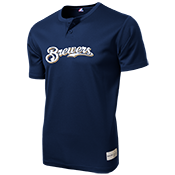 Brewers Youth 2-Button MLB Jersey - MLB181 Brewers-181