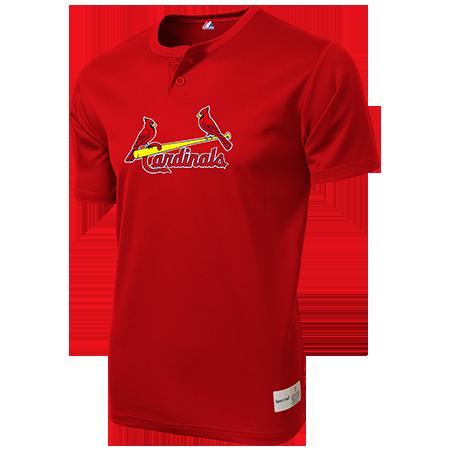 cardinals  button baseball jersey team orders customplanetcom