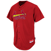 Cardinals Full Button Baseball Jersey - Adult Cardinals_Full_Button_Jersey_M6840