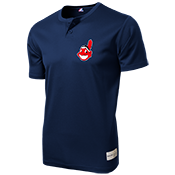 Indians Youth 2-Button MLB Jersey - MLB181 Indians-181