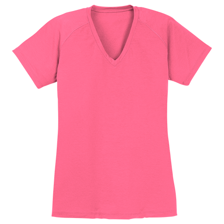 Custom printed adult customized ladies ultimate for Custom printed performance shirts