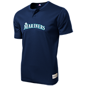 Mariners Youth 2-Button MLB Jersey - MLB181 Mariners-181