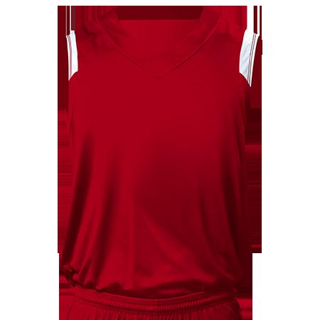 Custom Printed | Youth V-Neck Custom Basketball Jerseys - CustomPlanet.com