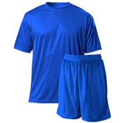 "Spirit Pack | Youth Wicking Tee 7"" Polyester Mesh Shorts - NB3142_N5293 NB3142_N5293"