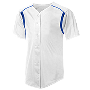 Youth Full Button Baseball Jersey - NB4146 NB4146