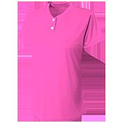 Two Button Softball Jersey - Girls Tek - NG3143 NG3143