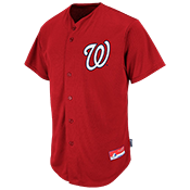 Nationals Official MLB Full Button Youth Jersey - MA654Y Nationals_FullButton_Jersey_Youth_M684Y