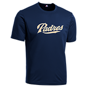 Padres Youth Wicking MLB Replica Jersey - M1261 Padres-M1261