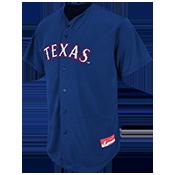 Rangers Full Button Baseball Jersey - Adult Rangers_Full_Button_Jersey_M6840