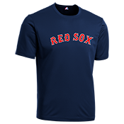 Red-Sox Youth Wicking MLB Replica Jersey - M1261 Red-Sox-M1261