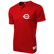 Reds MLB 2 button Youth Jersey - MLB181 Reds-181