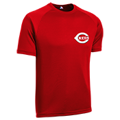 Youth Reds MLB Replica T-Shirt - 5301 Reds-5301