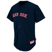 Red-Sox Official MLB Full Button Youth Jersey - MA654Y Redsox_FullButton_Jersey_Youth_M684Y