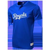 Royals MLB 2 button Youth Jersey - MLB181 Royals-181