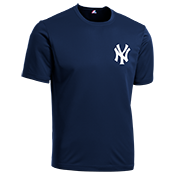 Yankees Youth Wicking MLB Replica Jersey - M1261 Yankees-M1261