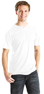 V-Neck T Shirt 0206TC-HR