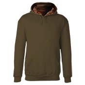 Adult Camo Hooded Sweatshirt - 1264 1264