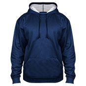 Adult Pro Heathered Fleece Hoodie - 1450 1450