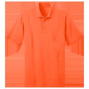 Adult Polo Pocket Shirt  - KP55P KP55P