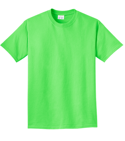 Neon T-shirts, Neon Colored Tees - CustomPlanet.com