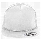 Classic Poplin Golf Mesh  Trucker Hat  - 6003 6003