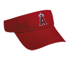 Anaheim Angels - Official MLB Visor for Little Kid's Softball Leagues. Angels-Visors