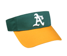 Oakland A's- Official MLB Visor for Little Kids Softball League Athletics-Visors