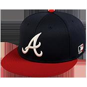 Braves Flatbill Baseball Hat Braves_Flatbill_Baseball_Hat_400