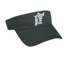 Florida Marlins - Official MLB Visor for Little Kids Softball League Marlins-Visors