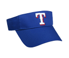 Texas Rangers - Official MLB Visor for Little Kids Softball Leagues Rangers-Visors