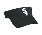 Chicago White Sox - Official MLB Visor for Little Kids Softball League Whitesox-Visors